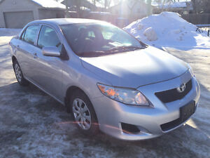 SELLING 2010 Toyota Corolla CE Sedan New safety!!!