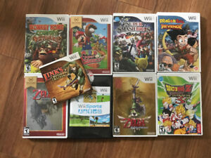Nintendo Wii System Plus Games