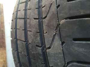 2014 Camaro Tires 275/40/20 & 245/45/20 Tires Used with One Rim
