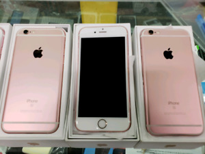 SALE Rose gold iPhone 6s unlocked -Free Home delivery