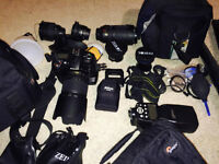 Nikon D90 and lots of accesories