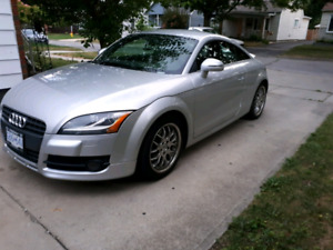 Beautifully maintained 2008 Audi TT (SAFETIED)