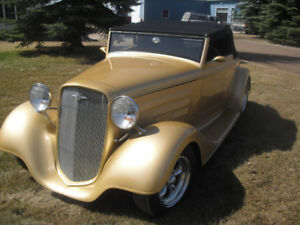 1933  Chev Roadster & More