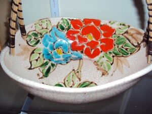 Antique Japanese Pottery Bowl