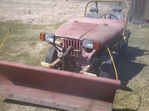 1953 Willys Jeep - the original side by side