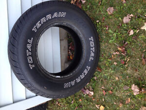 One Light Duty Truck/SUV tire for sale
