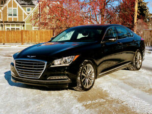 2017 Genesis G80 Ultimate 5.0L V8 AWD 3M, 13600km, 100K Warranty
