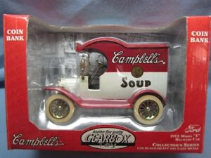 campbell's soup 1:24 scale-heavy die cast metal collector's ser