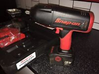 "Snap on impact wrench but gun 18v 1/2 inch 1/2"" Snapon Snap-on"