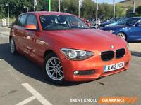 2012 BMW 1 SERIES 118d SE Bluetooth GBP30 Tax 1 Owner Parksensors