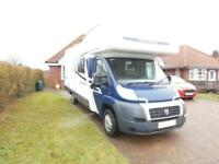 Swift Escape 696, 6 berth motorhome with 5 travelling seat belts