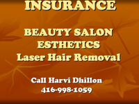 INSURANCE for Beauty Salons, Spa, Parlors, Laser Hair Removal