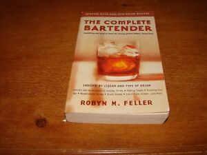 The Complete Bartender  Book - Liquor, Alcohol Recipes