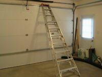 10 ft. aluminum ladder