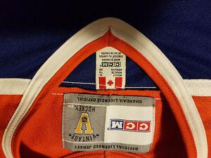 Vintage Oilers jersey