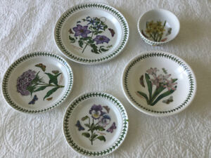 Portmeirion Botanic Garden dishes set for sale!