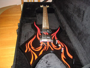 BC Rich KKW with hardshell case