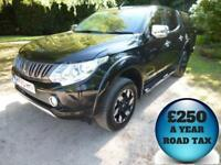2015 Mitsubishi L200 2.4DI-D Barbarian Auto Double Cab 4x4 Pick Up Diesel
