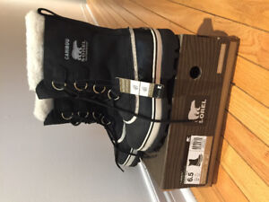 SOREL - LEATHER Boot/ BNWT 92$