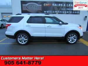 2012 Ford Explorer Limited  4X4, NAV, ROOF, CAMERA, POWER GATE
