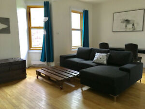 All incl furnished meublé 2 chambres, 1000 pi2/100 m2