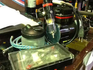 LIKE NEW! Air Brush Compressor with accessories $100