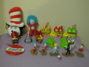 FOR SALE DR SEUSS TOYS THE BIGGER ONE IS NEW