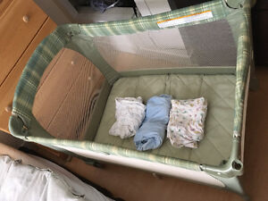 Playpen and sheets!