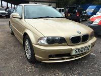 2001 Bmw 318 Ci se coupe Px welcome