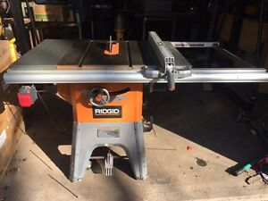 Ridgid table saw buy or sell tools in ontario kijiji for 10 cast iron table saw ridgid