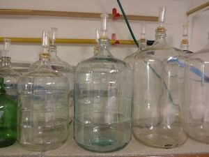 Wine making equipment:  carboys, primary, corkers and brew belt