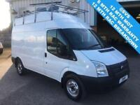 2012 12 FORD TRANSIT MWB HIGH ROOF T350 125BHP AWD 4WD ALL / FOUR WHEEL DRIVE