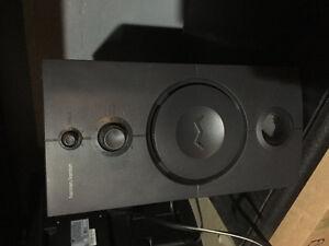 Harman computer speaker/subwoofer