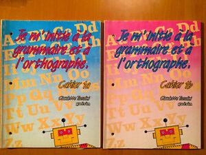 Je m'initie à la grammaire et à l'orthographe Cahiers 1A et 1B