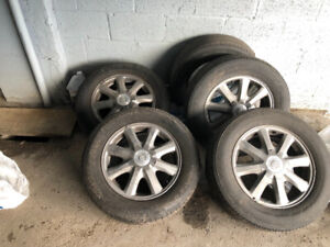 P225/60R/16 Tires with Rims