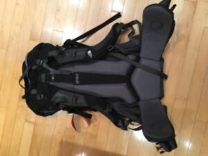 North Face Terra 65 Hiking Backpack TNF Black Asphalt Grey