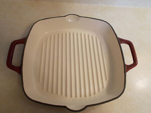 Kitchen Aid Grill pan (can use for panini's as well)