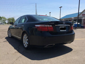 2007 Lexus LS 460 Black on Tan Leather, wont last long