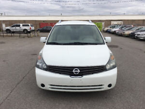 2007 Nissan Quest. CERTIFIED, E TESTED, WARRANTY, NO ACCIDENT