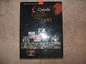 Canada-Our Century in Sport- Big, beautiful collectible book!