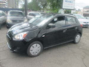 2015 MITSUBISHI MIRAGE ONLY 20.000 KM SAFETY +4 YEARS  WARRANTY