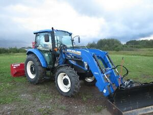 2013 New Holland Tractor T4.75