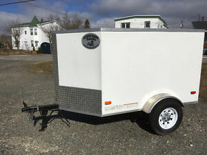 Enclosed Cargo Trailer 4x6 V-Nose
