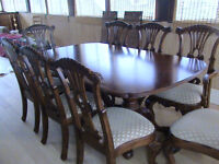 Table and Chair Set (Chippendale)