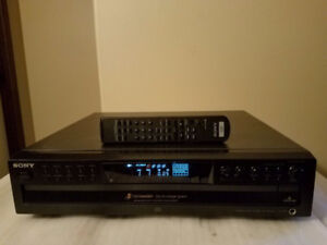 SONY CDP-CE375 5-Disc CD Player