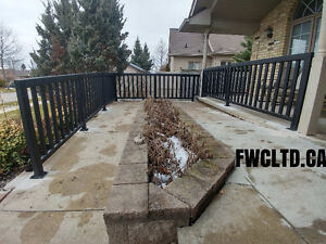 Custom Railings, Hand Rails, Stairs,Ramps, Guard Railing Systems London Ontario image 3