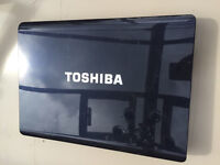 Toshiba laptop and charger