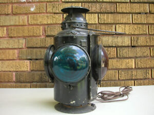 Vintage Caboose and Signal Lanterns