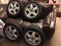 "4x 15"" Mini wheel and tyre"