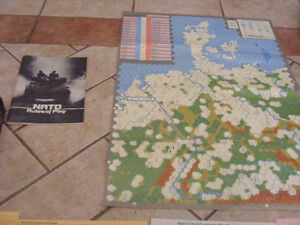 VG games 1980s Era Nato The Next War In Europe Board Game, AS is
